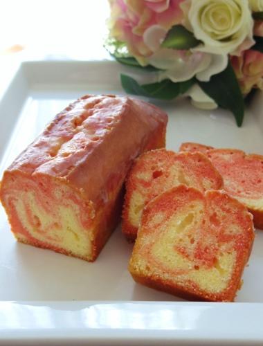ブルガリアローズのパウンドケーキ